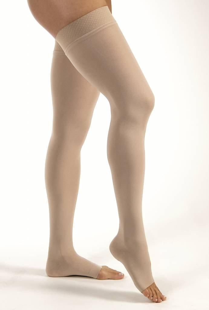 Force de compression:  30 à 40 mmHg et plus au niveau de la cheville