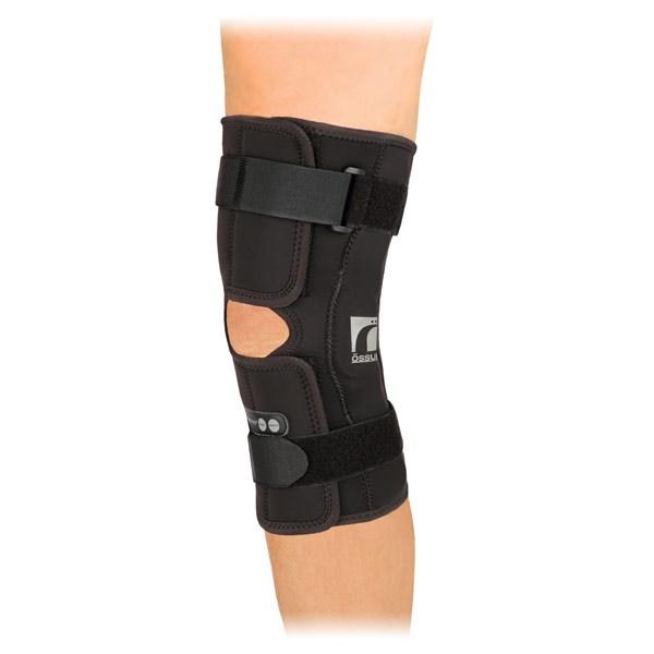Orthèse stabilisatrice de genou semi-rigide